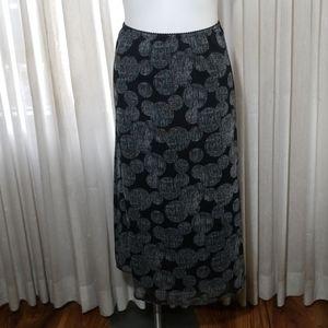 Croft & Barrow elastic waist skirt